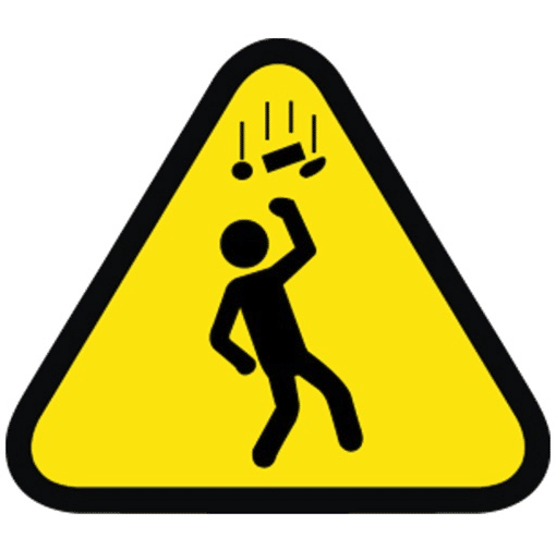 Falling Objects at Work